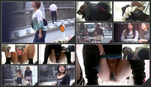 M shaped angle view voyeur toilet peeing and pooping – 2