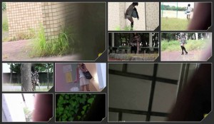 Outdoor stalking  Shamefull pee and poo in panties voyeur – 2