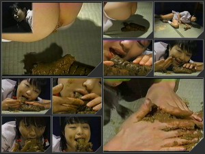 Anna Kuramoto defecation and puking after eats feces