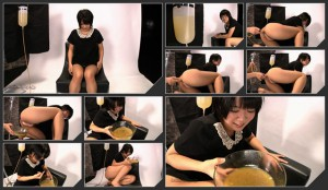 Drinking and puking dirty enema  [HD720p] – 1