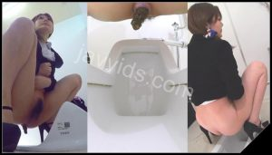 [JVC – 0039] Lovely japanese girls in trousers do poop in toilet  [HD 1080p]