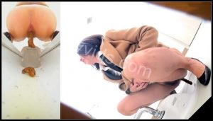 [JVC – 0041] Spy camera in public toilet filming poop japanese women  [HD 1080p]
