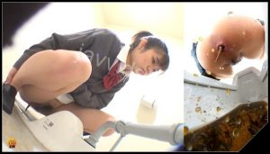 [JVC – 0059] Powerfull diarrhea and prolongate defecation  [HD 1080p]