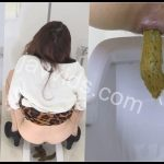 [JVC – 0114] Big pile feces, girls defecates in toilet  [HD 1080p]